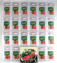 (22) 1970 Topps Football Unopened Packs with Box