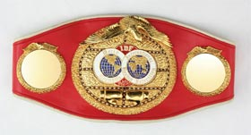 Mark Too-Sharp Johnson Championship IBF Boxing Belt