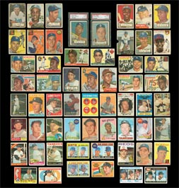 Complete Topps Baseball Card Set Run from 1951-2008