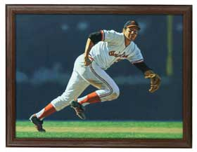 Brooks Robinson Arthur Miller Original Art Painting Oil on Canvas