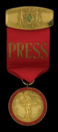 1915 Philadelphia Phillies World Series Press Pin