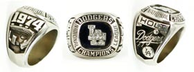 1974 National League Championship Los Angeles Dodgers Ring - Goldie Holt