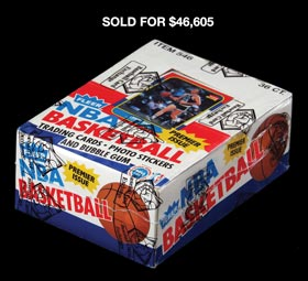 Incredible 1986-87 Fleer Basketball Unopened Wax Box of (36) Packs�Baseball Card Exchange Wrapped