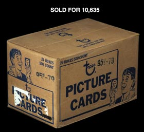 1979 Topps Baseball Sealed Vending Case with (24) Boxes