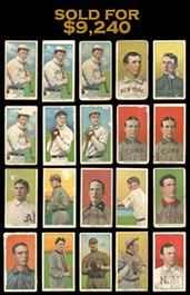 Massive 1909-11 T206 White Border Collection of (412) Cards with (33) Hall of Famers Including (2) Mathewson, (4) Southern Leaguers & Lundgren Variation!