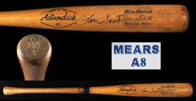 1971-1973 Ron Santo Signed Game-Used Professional Model Baseball Bat - Full PSA/DNA & Mears A8