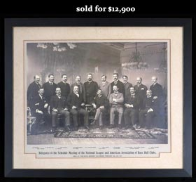 1897 N.L. & A.A. Delegates Imperial Cabinet Photo w/Brush, Reach, Hanlon and Pullman