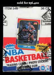 Immaculate 1986-87 Fleer Basketball Unopened Wax Box of (36) Packs! – Baseball Card Exchange Wrapped & Letter from Steve Hart