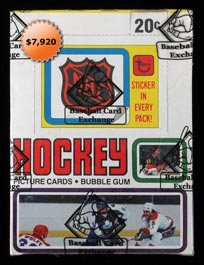 1979-80 Topps Hockey Unopened Wax Box of (36) Packs - BBCE Wrapped