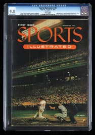 August 16, 1954 Sports Illustrated First Issue - CGC 9.8 (None Higher)