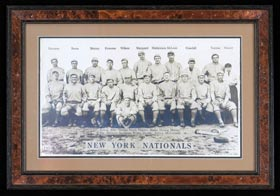 Rare 1913 T200 Fatima New York Giants Team Premium