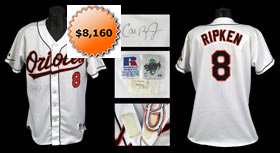 1998 Cal Ripken Jr. Signed Game-Used Home Jersey - Full JSA & Orioles LOA
