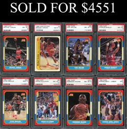 Sports Memorabilia Auction Selling Baseball Cards Football