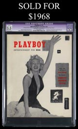 December, 1953 Playboy Inaugural Issue with Marilyn Monroe Cover--GCG Restored Grade 5.5