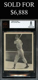 1939 Play Ball #92 Ted Williams Rookie - BVG 8 NM-MT