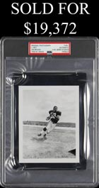 Jim Brown 1957 Contact-Proof Original Photo by Henry Barr (PSA/DNA Type I) - Used for 1958 Topps Rookie Card!
