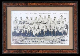 Rare 1913 T200 Fatima New York Giants Oversized Team Premium