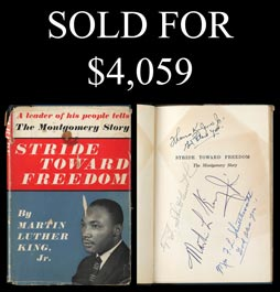 1958 Book Stride Toward Freedom Multi-Signed by (6) Civil Rights Leaders Including Martin Luther King, Jr. - Full PSA/DNA
