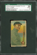 T213 Coupon Ty Cobb
