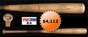 Roger Maris 1964 Hillerich and Bradsby Game-Used Baseball Bat - PSA/DNA 8.5
