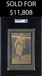 1911 Jones, Keyser & Arras Cabinets #331 Walter Johnson SGC Authentic – First Offered!