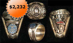 Brooks Robinson 1970 World Series Salesman's Sample Championship Ring