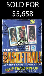 High Quality 1980-81 Topps Basketball Unopened Wax Box of (36) Packs--BBCE Wrapped
