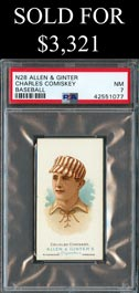 1888 N28 Allen & Ginter Charles Comiskey - PSA NM 7