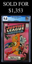 1961 Justice League of America #2 CGC 9.0 VF/NM