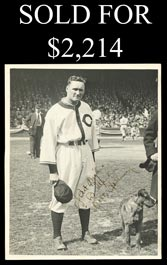 Striking Walter Johnson 1930s Boldly Signed 8x10 Photo - Full PSA/DNA LOA