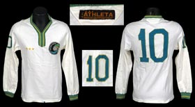 Pele 1975-1977 Match-Worn New York Cosmos Jersey with LOA