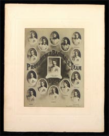 1904 Providence Grays Baseball Cabinet Photograph with (11) Future Major League Baseball Players