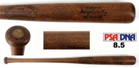 George High Pockets Kelly 1929-1930 Signed Autographed Game-Used Baseball Bat PSA/DNA 8.5