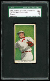 E97 Briggs Dennis Sullivan Boston Variation SGC 40