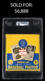 1960 Leaf Baseball Series 2 Unopened Wax Box (from Sealed Case) - GAI NM-MT+ 8.5