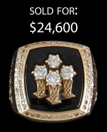 1996 Chicago Bulls Championship Ring from John Capps