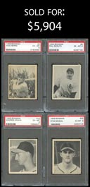 1948 Bowman Baseball PSA Graded EX-MT 6 to NM 7 Near Set of (47/48) Cards