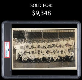 1923 Yankees Original Team Photo with Ruth and Gehrig (PSA/DNA Type I)