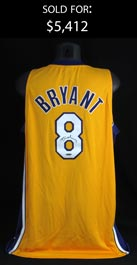 Kobe Bryant Signed Los Angeles Lakers #8 Jersey in Original UDA Box with COA