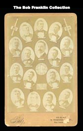 1894 Betz Studio Baltimore Baseball Club Team Composite with (8) Hall of Famers