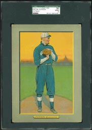 T3 Turkey Red Walter Johnson Ad Back SGC 30