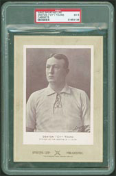 W600 Sporting Life Cy Young PSA EX 5