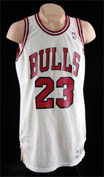 Michael Jordan Jersey Game Used Chicago Bulls 1987-88