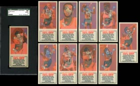 1978-79 San Diego Clippers Handyman Complete Set of (10/10) Cards with SGC 88 Gene Shue