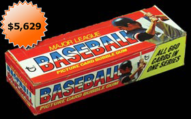 1976 Topps Baseball Unopened Wax Box