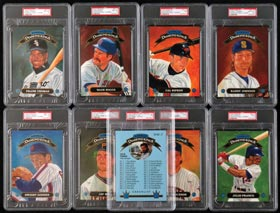 1992 Donruss Diamond Kings Super Complete PSA Graded Set of (27) Cards
