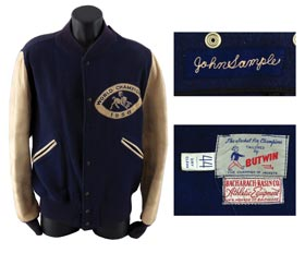 "Johnny Sample 1958 Baltimore Colts Football ""World Champions"" Jacket"