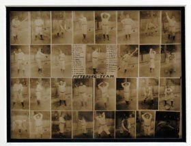 1909 World Champion Pittsburgh Pirates Type I Team Composite Photograph