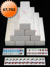 (10) 1977 Topps Baseball Complete Sets from Vending Boxes