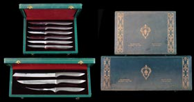 Mickey Mantle's 1959 All-Star Game Presentation Cutlery Sets with Mantle Family Signed COA